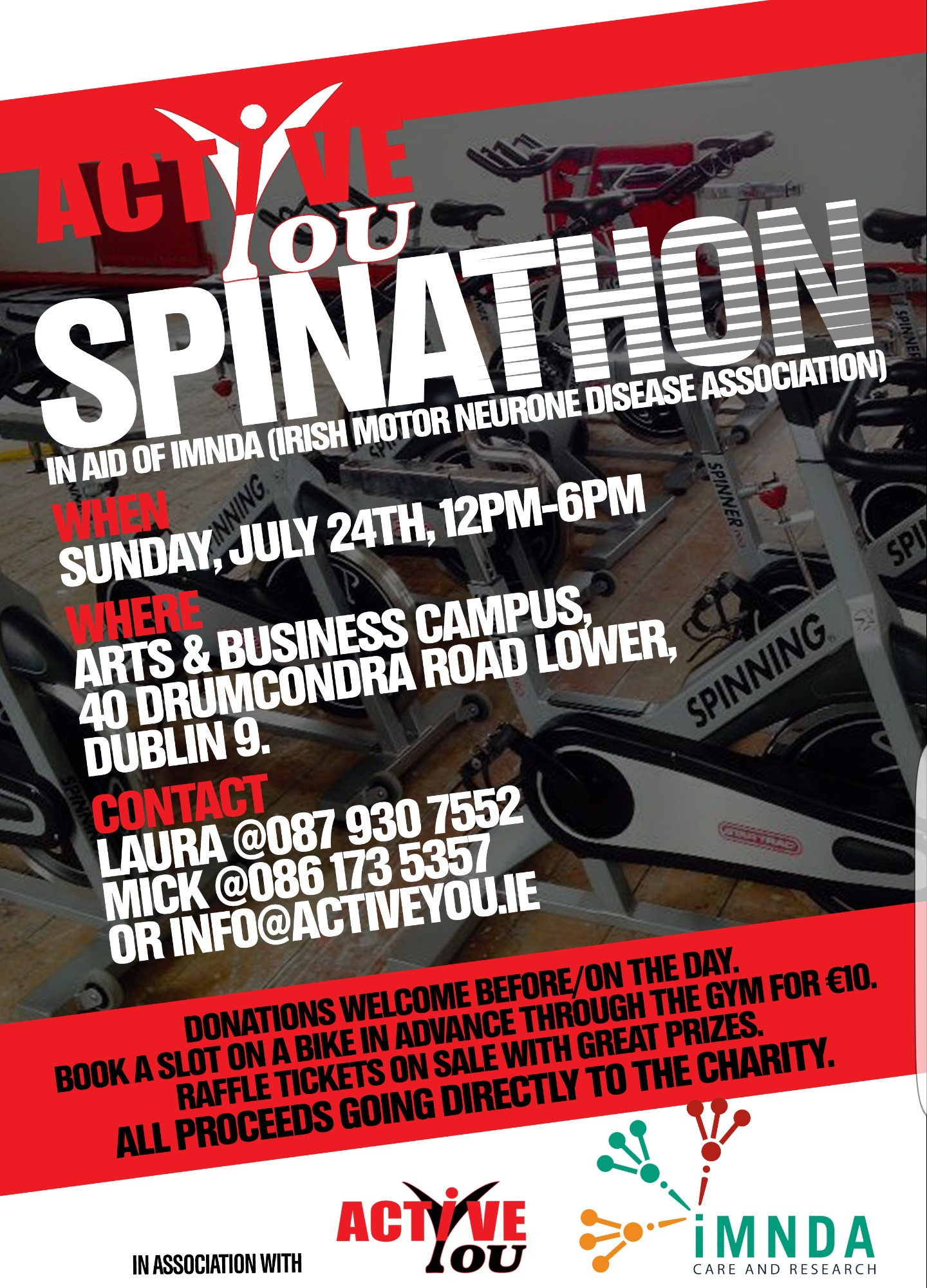 Active You Spinathon Poster