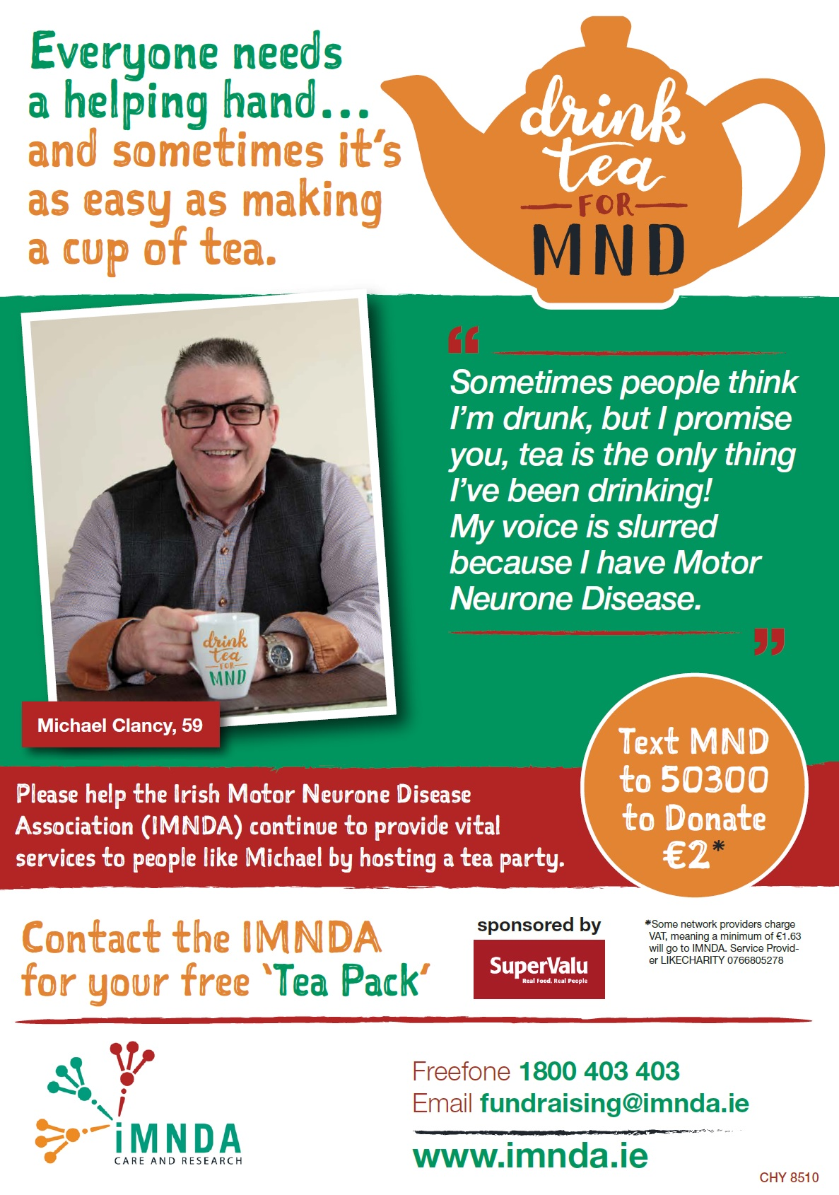 National mnd awareness campaign 2017 imnda for Motor neurone disease support
